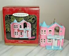 1999 Barbie's Dream House - New-In-Box - Hallmark Barbie Keepsake Ornament