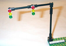 Lego Traffic Light Signals 2-Lane Overhead 8401 8495 Road City Street Sign Post