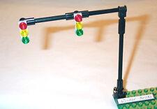 Lego Traffic Light Signals 2-Lane Overhead 8401 8495 Road City Street Sign Post