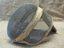 Vintage Castello Fencing Mask > Antique Foil Epee Sword Masks New York 7980