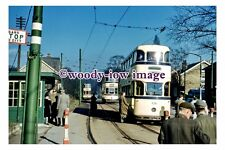 gw0353 - Sheffield Trams no 536 & 286 at Beauchief  in 1959 - photograph