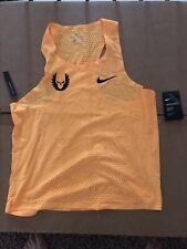 Nike Pro Elite Aeroswift Oregon Project NWT Singlet Gyakusou Large RARE Yellow