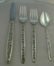 * International Valencia Sterling Silver Four ( 4 ) Piece Setting