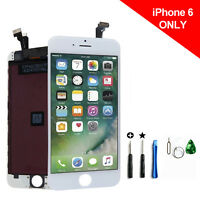 For White iPhone 6 Model A1549 A1586 LCD Screen + Digitizer Assembly Replacement