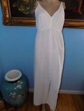 Anthropologie Farm Rio Dahlia Maxi Dress Slip Only-XL