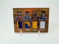 2016-17 PANINI GOLD STANDARD INGRAM JONES RICHARDSON ROOKIE QUAD PATCH 12/25