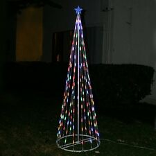 "Homebrite 4' FT Multi-Color LED Light Christmas Tree Cone Indoor Outdoor 48"" IN"