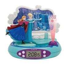 Disney Frozen Radio Sveglia Proiettore con notte Luce Lexibook Bambini
