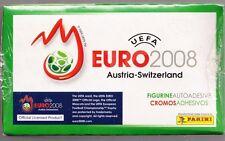 EURO 2008 EM 08 Box 100 Bustine mint conditions  Panini Euro 2008