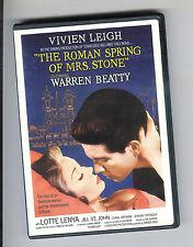 Roman Spring of Mrs Stone (DVD) Warren Beatty Vivien Leigh Very Fine