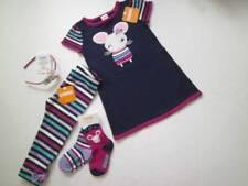 NWT NEW 4T 4 Gymboree Back to Blooms Mouse Dress Legging Headband Socks 5Pcs