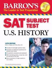 Barron's SAT Subject Test in U.S. History (Barron's How to Prepare for the Sat I
