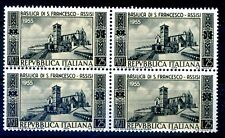 ITALIA 1955 - BASILICA S. FRANCESCO  QUARTINA NUOVA **