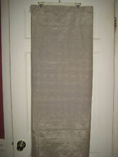 Springs Shower Curtain Shimmery Beige Cotton & Polyester New 70x71