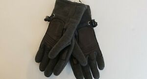 NWT POLO RALPH LAUREN MENS GLOVES MITTENS/CHARCOAL, LARGE #G