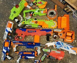 Nerf Soft Dart Toy Guns Lot