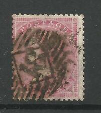 1855/7 SG 66B, 4d Rose, CARTA SPESSA, USATO BUONE.