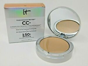 IT Cosmetics CC+ Airbrush Sheer to Full coverage perfecting powder SPF 50 TAN