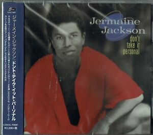 JERMAINE JACKSON - CD - Don't Take It Personal (Expanded) OBI Funky Town. NEW
