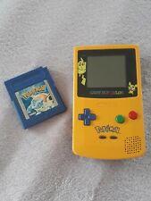 Original Game Boy color POKÉMON Edition inkl. 4 Spiele POKÉMON    Rarität