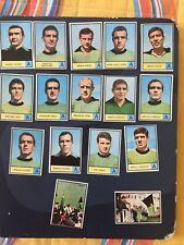 Calciatori Mira 1966/67 - lotto set  16 figurine Venezia con i 2 rari   tifosi