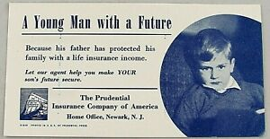 Prudential Insurance Company of America Ink Blotter