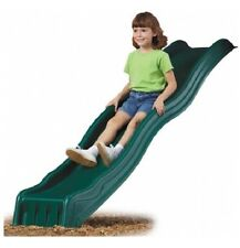 Playground SLIDE GREEN 2.4m NEW Suits up to 1200mm Cubby House Accessories