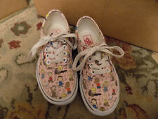Vans Authentic Peanuts Characters Dance Party Pink Kids 12 Skate Shoes Sneaker