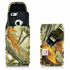 Turtleback iPhone 6 6S Vertical Camo Nylon Holster Case Metal Clip Fit Otterbox