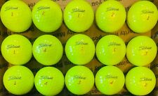 New listing Fifteen (15) Yellow Titleist Pro V1X used golf balls *SHIPS SAME DAY*