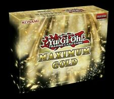 Yu-Gi-Oh! Maximum Gold Case. FACTORY SEALED! PRESELL SHIPS 11/13