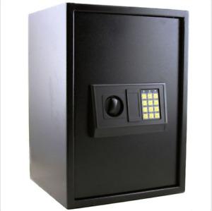 Extra Large Electronic Digital Lock Keypad Safe Box Home Security Gun Cash Black