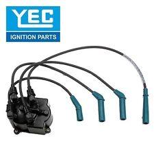 YEC JAPAN Ignition Distributor Cap & Spark Plug Wire Kit YD153 1910111050