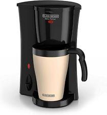 BLACK+DECKER Brew 'n Go Personal Coffee Maker Machine Single Cup  w/ Travel Mug