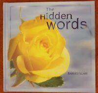 The Hidden Words of Baha'u'llah hardback Book  Fast Free postage Bahaullah