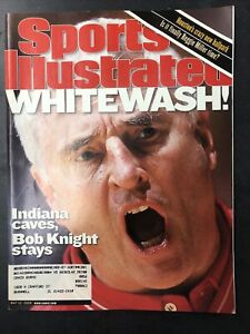 Sports Illustrated - May 22, 2000 - Bobby Knight - Indiana Hoosiers