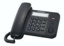 Panasonic Telefono Analogico con Filo Modello KX-TS520EX Colore Nero
