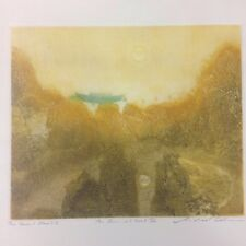 Michael Oelman Signed Etching The Great Flood V . The Sun, At Cast   59/100