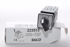 Umschalter / Nockenschalter von BACO Typ 223513 ohne 0-Stellung, 3-polig