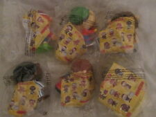 Rare McDonalds Happy Meal Toys 8 of 9 Set 2002 - Little Monsters