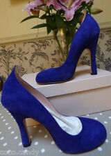 Agent Provocateur Vivienne Westwood 3 4 violet suede shoes 36 37 heels NEW box