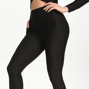 Women Seamless Leggings Yoga Pants Fitness High Waist Butt Push Up Fitness Gym