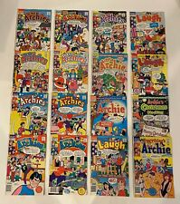 LOT OF 16 THE NEW ARCHIES #2-21 RUN/ LITTLE ARCHIE/ LAUGH (1988-1989) VF/NM / NM