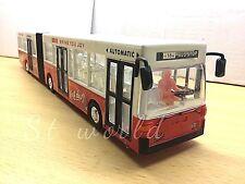 LONDON SINGLE DOUBLE DECKER RED BUS SOUVENIR TOY  LIGHTS & MUSIC - LENGTH 39CM