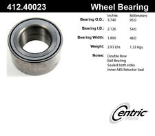Wheel Bearing-ELECTRIC/GAS Front Centric 412.40023E