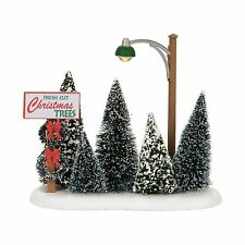 Dept 56 Lit Christmas Tree Lot 4054239 NEW Department 56  D56 2017 Village