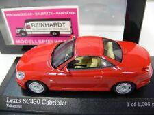 1/43 Minichamps Lexus SC 430 rot
