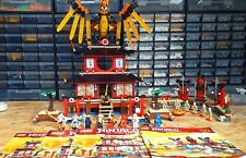 Lego Ninjago: Fire Temple 2507, Skeleton Bowling 2519 (100% Complete - NO BOXES)