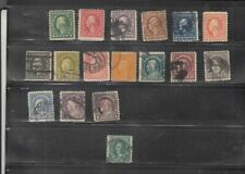 oldhal-Perf 10set 1916-17 incl the $5 stamp