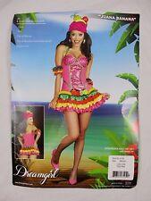 Juana Banana Dreamgirl Halloween Cosplay Sparkly Dress Costume Womens M HA11a